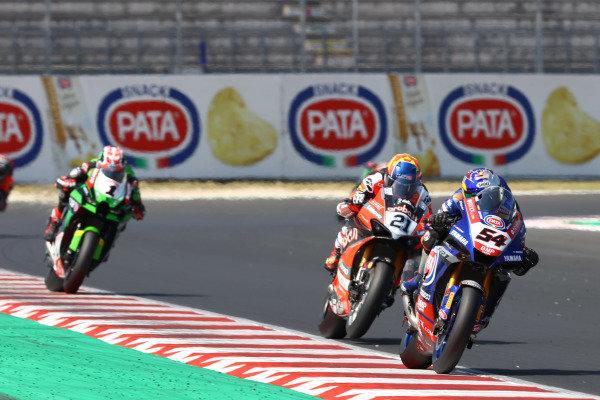 Toprak Razgatlioglu, PATA Yamaha WorldSBK Team, Michael Ruben Rinaldi, Aruba.It Racing - Ducati.