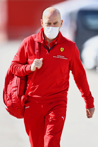 Jock Clear, Race Engineer, Ferrari