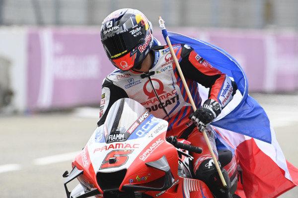 Second place Johann Zarco, Pramac Racing.