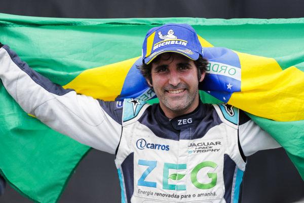 Race winner Sérgio Jimenez (BRA), Jaguar Brazil Racing