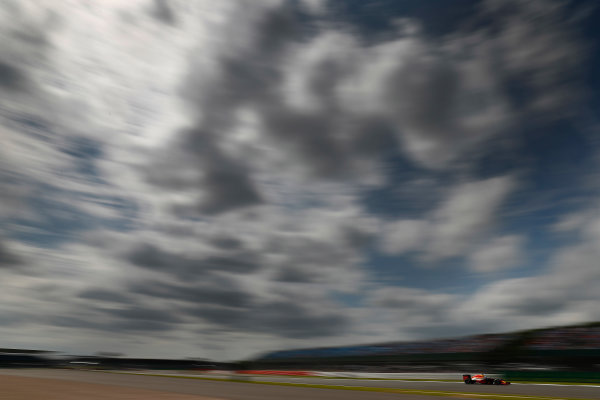 Silverstone, Northamptonshire, UK Friday 08 July 2016. Daniel Ricciardo, Red Bull Racing RB12 TAG Heuer. World Copyright: Glenn Dunbar/LAT Photographic ref: Digital Image _V2I7599