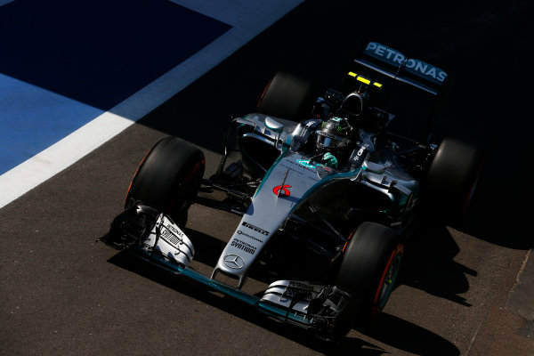 Silverstone, Northamptonshire, England. Friday 03 July 2015. Nico Rosberg, Mercedes F1 W06 Hybrid. World Copyright: Alastair Staley/LAT Photographic. ref: Digital Image _79P9150