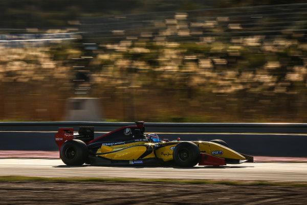 JEREZ (ESP) MRT 4-6 2015 - First collective test of the World Series by Renault 2015 at Circuito Permanente de Jerez. Nyck de Vries #1 Dams. Action. © 2015 Diederik van der Laan  / Dutch Photo Agency / LAT Photographic