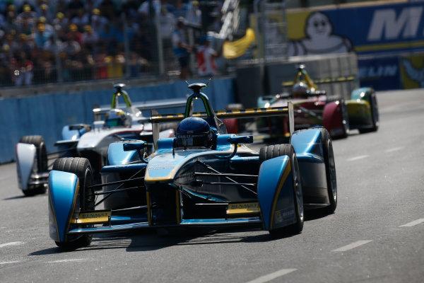 2014 Formula E  Buenos Aires e-Prix, Argentina Saturday 10 January 2015. Nicolas Prost (FRA)/E.dams Renault - Spark-Renault SRT_01E  Photo: Alastair Staley/LAT/Formula E ref: Digital Image _79P4129