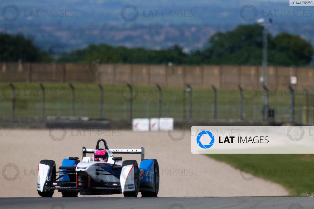 Formula E Testing - Donington Park, UK - Day 3 & 4