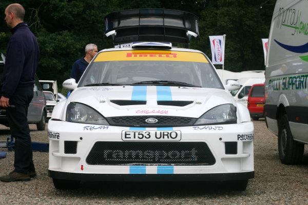 Perth, Scotland. 28th September 2008. Matthew Wilson/Scott Martin - Ford Focus WRC. World Copyright: Ebrey/LAT Photographic