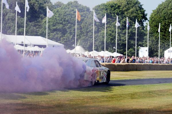 Goodwood Estate, Chichester England 11th - 14th July 2013. NASCAR. World Copyright: Jeff Bloxham/LAT Photographic ref: Digital Image DSC_7399