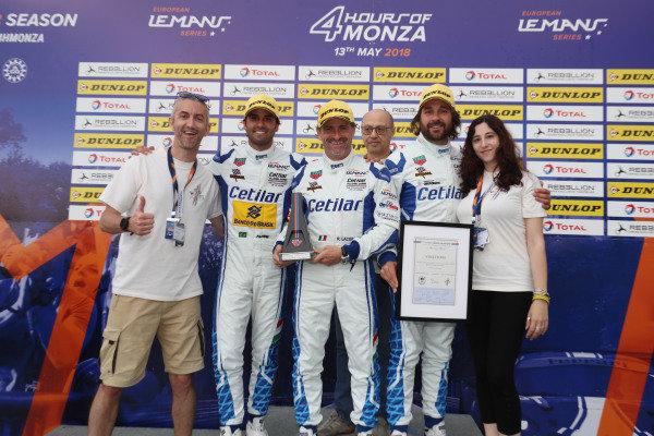 #47 Roberto Lacorte / Giorgio Sernagiotto / Felipe Nasr CETILAR VILLORBA CORSE D Dallara P217 - Gibson