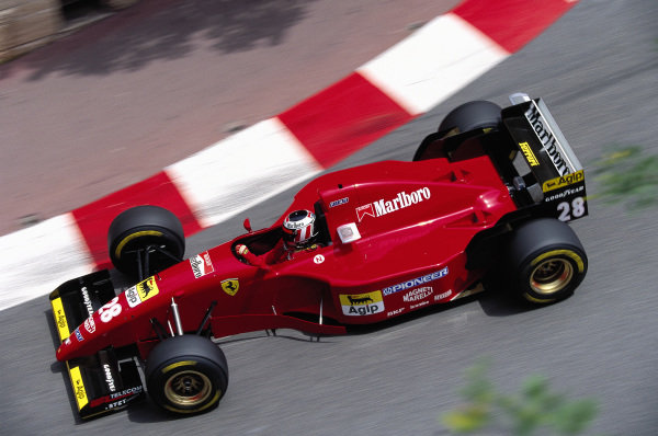 Gerhard Berger, Ferrari 412T2.