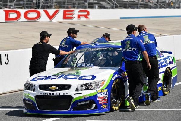 Monster Energy NASCAR Cup Series AAA 400 Drive for Autism Dover International Speedway, Dover, DE USA Friday 2 June 2017 Ty Dillon, Germain Racing, GEICO Chevrolet SS World Copyright: Logan Whitton LAT Images ref: Digital Image 17DOV1LW1899