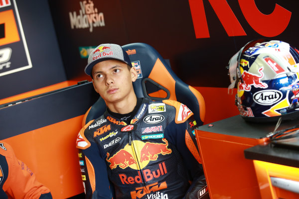 2017 Moto3 Championship  - Round 9 Sachsenring, Germany Friday 30 June 2017 Bo Bendsneyder, Red Bull KTM Ajo World Copyright: David Goldman/LAT Images ref: Digital Image 681029