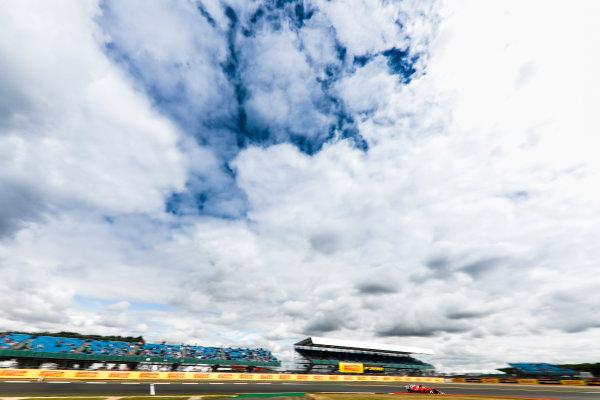 Silverstone, Northamptonshire, UK.  Friday 14 July 2017. Sebastian Vettel, Ferrari SF70H. World Copyright: Glenn Dunbar/LAT Images  ref: Digital Image _31I3054