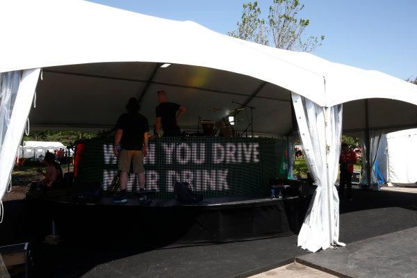 Circuit Gilles Villeneuve, Montreal, Canada. Sunday 11 June 2017. The F1 fan village. World Copyright: Andy Hone/LAT Images ref: Digital Image _ONZ4711