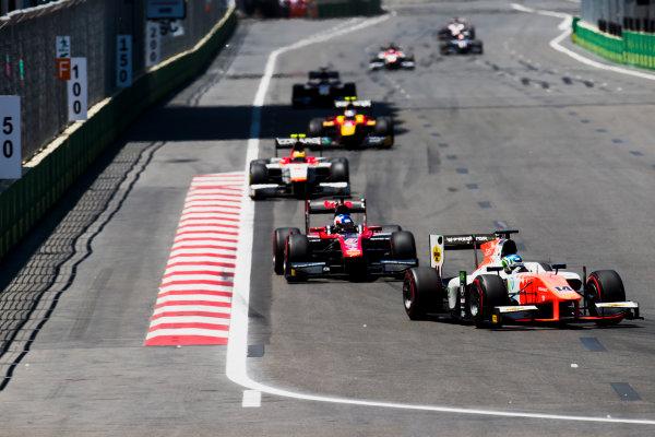 2017 FIA Formula 2 Round 4. Baku City Circuit, Baku, Azerbaijan. Saturday 24 June 2017. Sergio Sette Camara (BRA, MP Motorsport)  Photo: Zak Mauger/FIA Formula 2. ref: Digital Image _54I1164