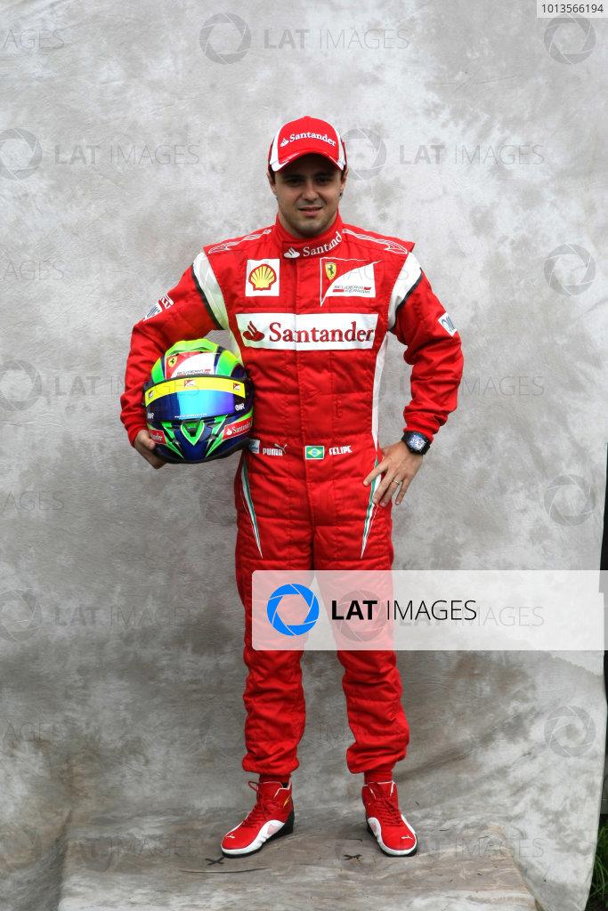 Albert Park, Melbourne, Australia24th March 2011.Felipe Massa, Ferrari F150Â¡ Italia. Portrait. World Copyright: LAT Photographicref: Digital Image2_LC1398
