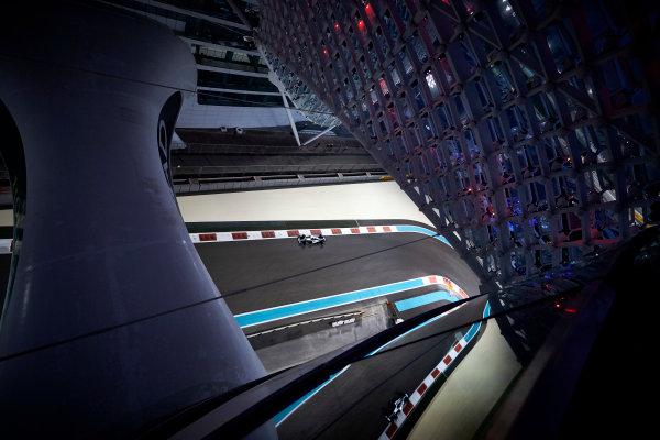 Yas Marina Circuit, Abu Dhabi, United Arab Emirates. Friday 24 November 2017. Valtteri Bottas, Mercedes F1 W08 EQ Power+. World Copyright: Steve Etherington/LAT Images  ref: Digital Image SNE20314