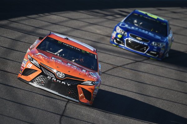 Monster Energy NASCAR Cup Series Homestead-Miami Speedway, Homestead, Florida USA Sunday 19 November 2017 Daniel Suarez, Joe Gibbs Racing, ARRIS Toyota Camry World Copyright: Rainier Ehrhardt / LAT Images ref: Digital Image DSC_1896