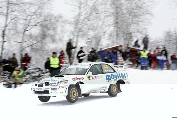 2007 FIA World Rally ChampionshipRound 3Rally of Norway 200715th - 18th February 2007Patrik Flodin, Subaru, Action.Worldwide Copyright: McKlein/LAT