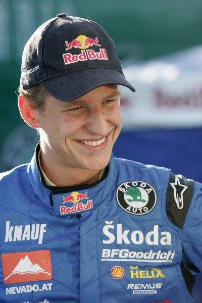 2006 FIA World Rally Champs. Round elevenDeutschland Rally.9th- 13th August 2006.Andreas Aigner, Skoda, portrait.World Copyright: McKlein/LAT