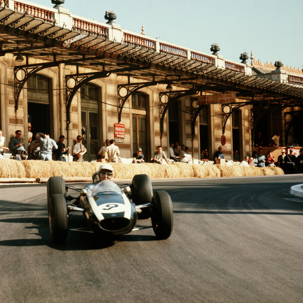 Monte Carlo, Monaco.7-10 May 1964.Phil Hill (Cooper T73 Climax).Ref-3/1214.World Copyright - LAT Photographic