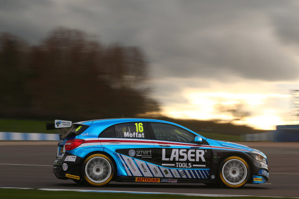 2017 British Touring Car Championship, Donington Park, England. 16th March 2017, Aiden Moffat (GBR) Laser Tools Racing Mercedes Benz A-Class World copyright. JEP/LAT Images