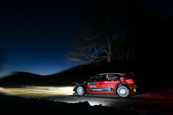 2017 FIA World Rally Championship,  Round 01, Rally Monte Carlo,  January 18-22, 2017,  Stephane Lefebvre/Gabin Moreau (Citroen C3 WRC) Worldwide Copyright: McKlein/LAT