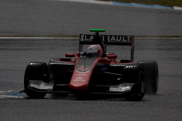 2017 GP3 Series Testing Estoril, Portugal. Wednesday 22 March 2017 Anthoine Hubert (FRA, ART Grand Prix). Action.  Photo: Alastair Staley/GP3 Series Media Service ref: Digital Image 585A1366