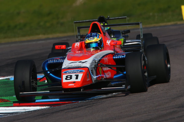 2017 British F4 Championship, Thruxton, 6th-7th May 2017,  Oscar Piastri (AUS) TRS Arden British F4 World copyright. JEP/LAT Images
