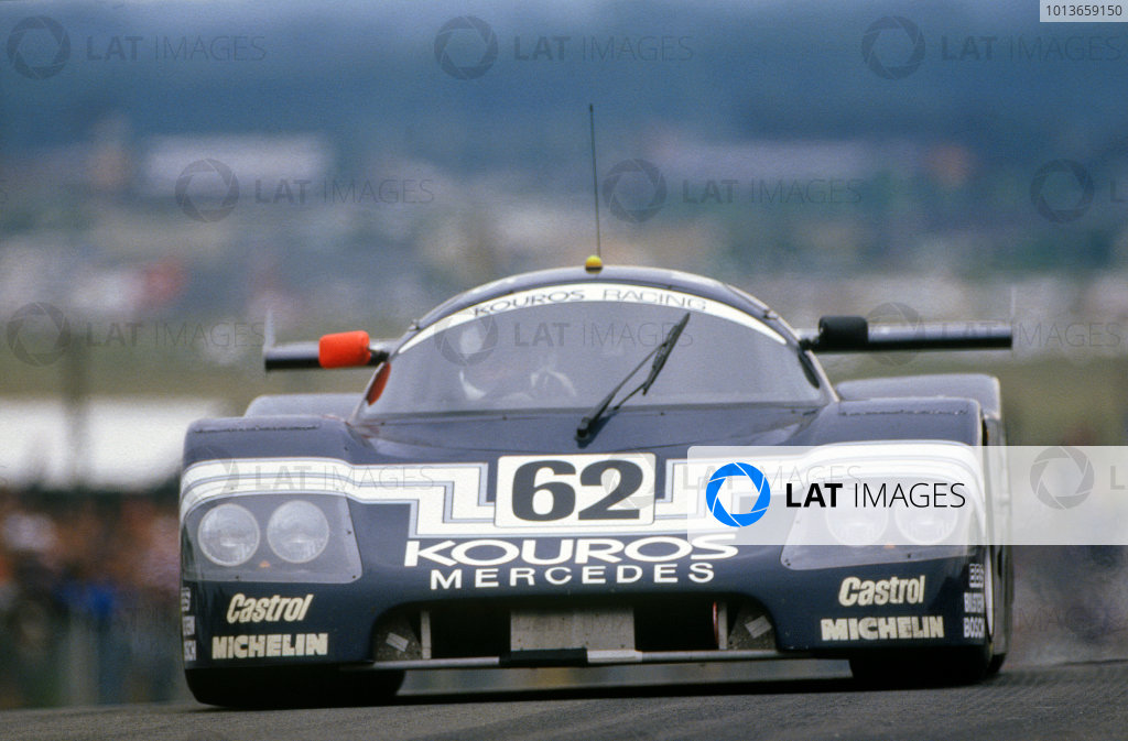 Le Mans, France. 10th - 11th June 1987.