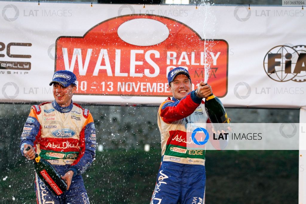 Round 13 Wales Rally GB. 10th-13th November 2011.