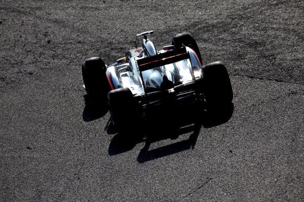 Suzuka Circuit, Suzuka, Japan.7th October 2011.Lewis Hamilton, McLaren MP4-26 Mercedes. Action. World Copyright: Glenn Dunbar/LAT Photographicref: Digital Image IMG_2619