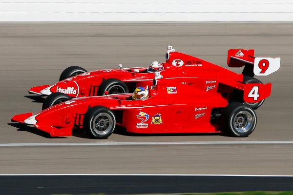 13-16 October, 2011, Las Vegas, Nevada USAJorge Goncalvez and Anders Krohn(c)2011, Russell LaBountyLAT Photo USA