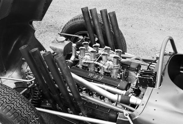 The BRM P57 V8 German GP, Nurburgring, 5th August 1962