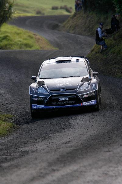 Round 7, Rally New Zealand, 21st-24th June 2012 Ott Tanak, Ford Fiesta, Action. Worldwide Copyright: McKlein/LAT Photographic.