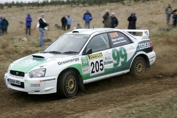 2006 British Rally Championship,Pirelli International Rally, Carlisle 13th-14th May 2006,Nigel Griffiths,World Copyright: Jakob Ebrey/LAT Photographic.