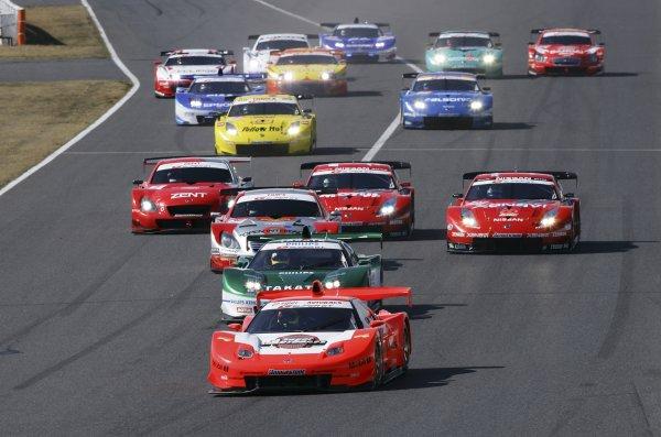 2006 Japanese Super GT ChampionshipSuzuka, Japan. 19th March 2006GT500 start.World Copyright: Yasushi Ishihara/LAT Photographicref: Digital Image2006SGT_R1_002 JPG(2 3MB)