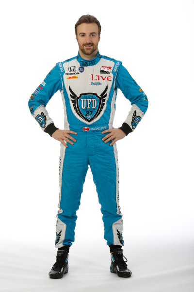18  February, 2014, Orlando, Florida, USA James Hinchcliffe © 2014, Michael L. Levitt LAT Photo USA