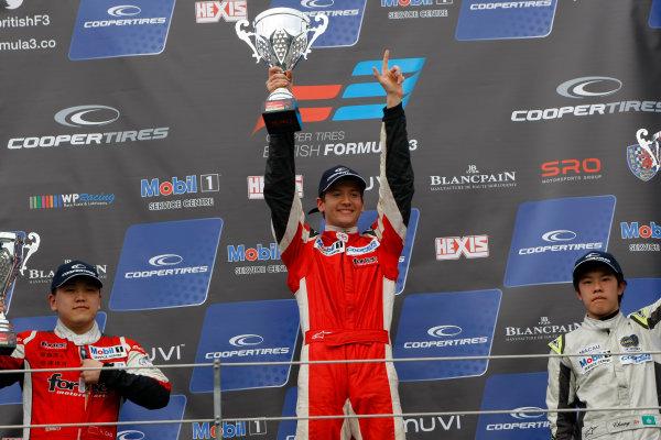 2014 Cooper Tires British Formula 3 International Series, Rockingham Motor Speedway, Northamptonshire. 4th - 5th May 2014.  Matt Rao (GBR) Fortec Motorsports Dallara Mercedes. World Copyright: Ebrey / LAT Photographic.