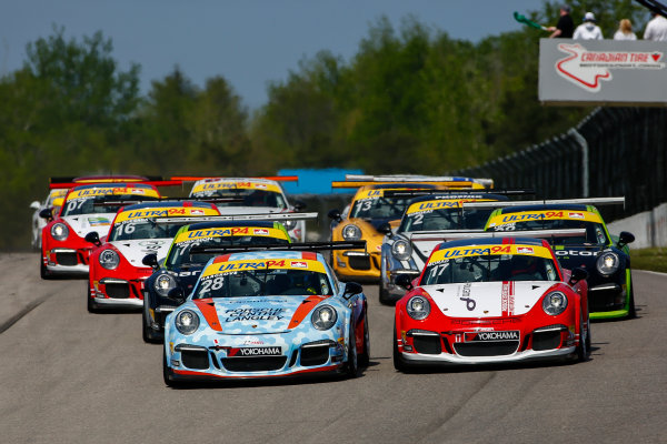 20-22 May 2016, Bowmanville, Ontario, Canada  GT3 Cup Canada, Race 2 Start ?2016, Jake Galstad LAT Photo USA