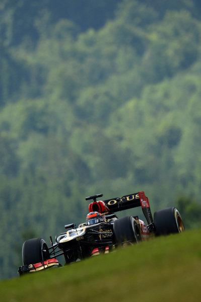 Kimi Raikkonen (FIN) Lotus E21. Formula One World Championship, Rd9, German Grand Prix, Qualifying, Nurburgring, Germany, Saturday 6 July 2013.