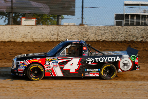 NASCAR Camping World Truck Series Eldora Dirt Derby Eldora Speedway, Rossburg, OH USA Tuesday 18 July 2017 Christopher Bell, Toyota Toyota Tundra World Copyright: Russell LaBounty LAT Images