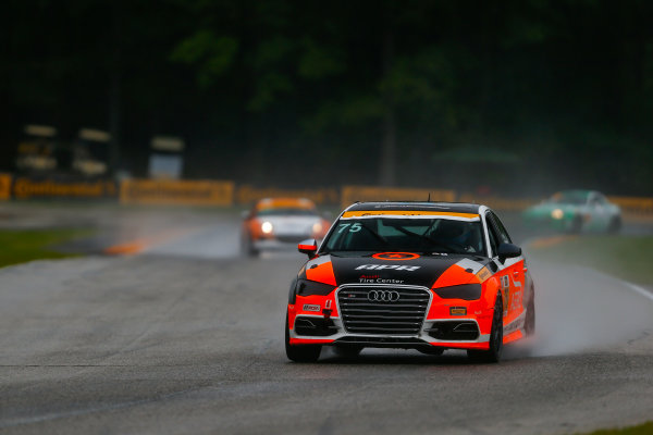 IMSA Continental Tire SportsCar Challenge Road America 120 Road America, Elkhart Lake, WI USA Friday 4 August 2017 75, Audi, Audi S3, ST, Roy Block, Pierre Kleinubing World Copyright: Jake Galstad LAT Images