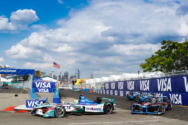 2016/2017 FIA Formula E Championship. Round 9 - New York City ePrix, Brooklyn, New York, USA. Saturday 15 July 2017. Antonio Felix da Costa (PRT), Amlin Andretti, Spark-Andretti, ATEC-02. Photo: Steven Tee/LAT/Formula E ref: Digital Image _O3I2790