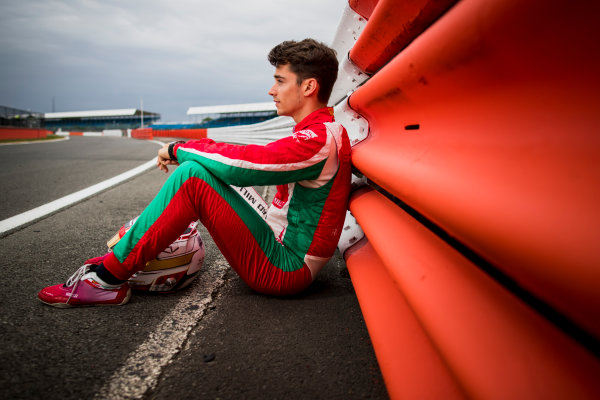 2017 FIA Formula 2 Round 6. Silverstone, Northamptonshire, UK. Thursday 13 July 2017. Charles Leclerc (MCO, PREMA Racing).  Photo: Zak Mauger/FIA Formula 2. ref: Digital Image _56I6357