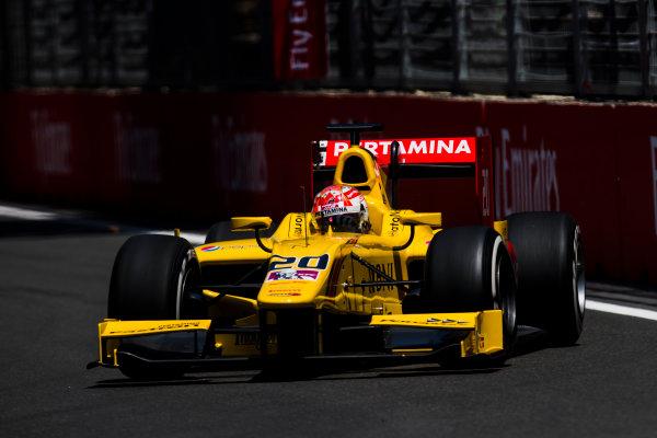 2017 FIA Formula 2 Round 4. Baku City Circuit, Baku, Azerbaijan. Friday 23 June 2017. Norman Nato (FRA, Pertamina Arden)  Photo: Zak Mauger/FIA Formula 2. ref: Digital Image _54I9782