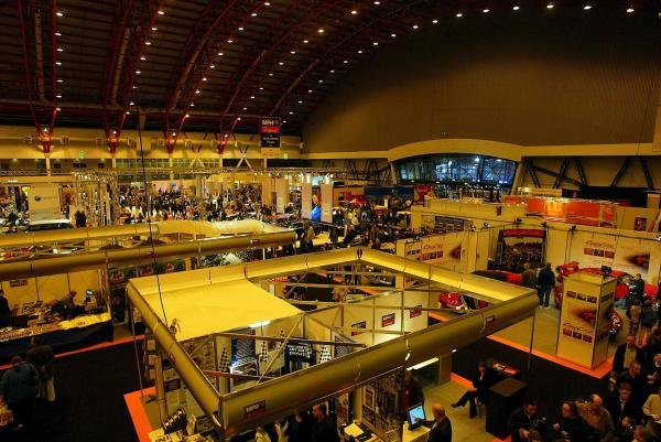 General view.MPH03 Show, Earls Court, London, England, 13 December 2003.DIGITAL IMAGE