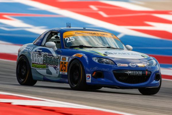 14-16 September 2016, Austin, Texas USA 25, Mazda, MX-5, ST, Steven McAleer, Chad McCumbee ?2016, Jake Galstad LAT Photo USA