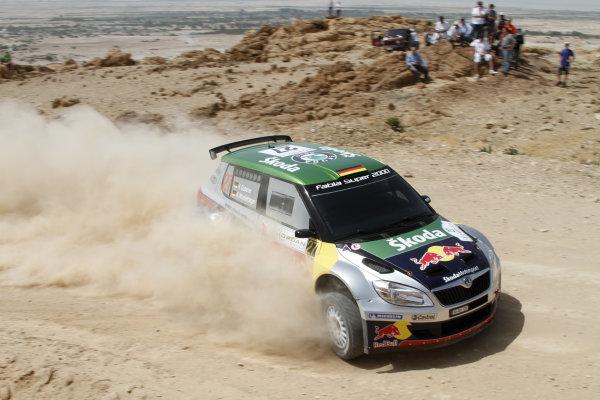 Round 04 Rally Jordan. 14th-16th April 2011.Herman Gassner, Skoda SWRC, Action.Worldwide Copyright: McKlein/LAT