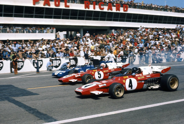 Paul Ricard, Le Castellet, France. 2-4 July 1971.