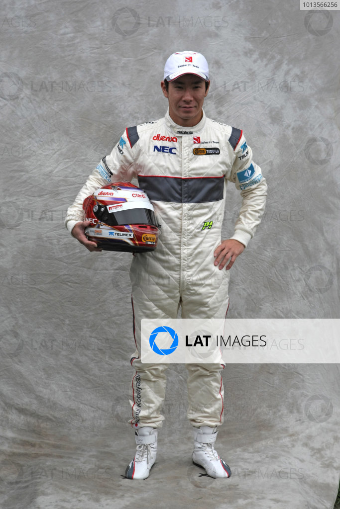 Albert Park, Melbourne, Australia24th March 2011.Kamui Kobayashi, Sauber C31 Ferrari. Portrait. World Copyright: LAT Photographicref: Digital Image2_LC1192